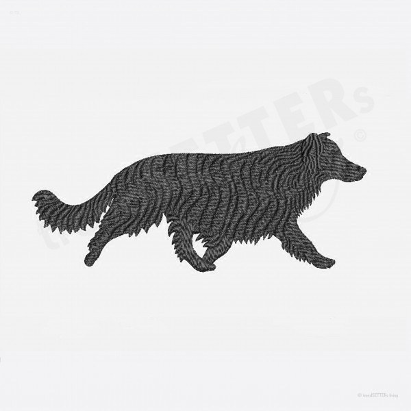 Stickmuster Border Collie