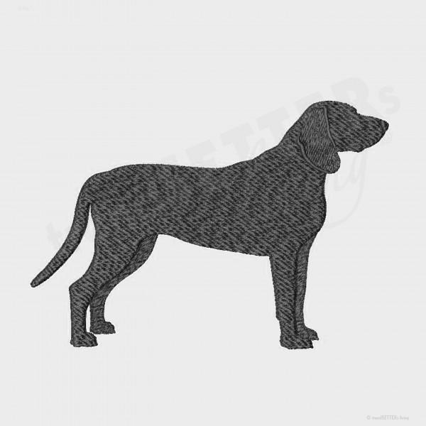 Stickmuster Bayrischer-Gebirgsschweißhund