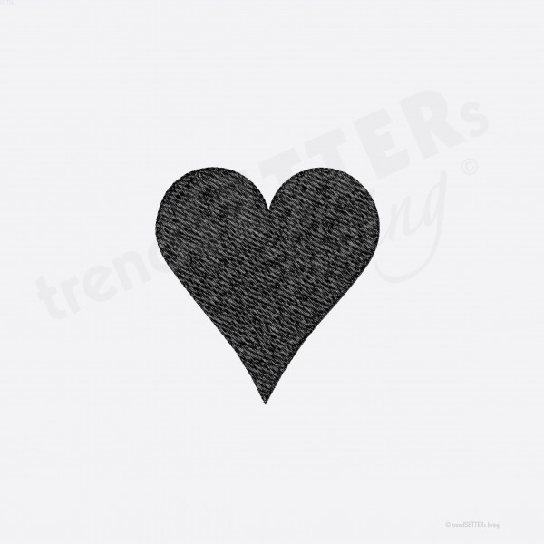 Stickmuster Herz