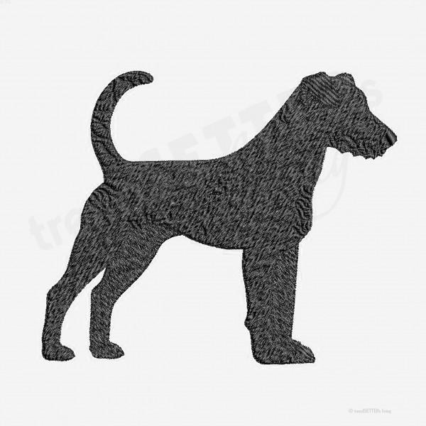 Stickmuster Parson Russel Terrier