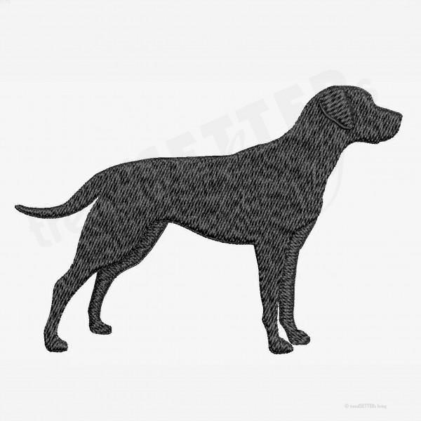 Stickmuster Labrador Leistungslinie